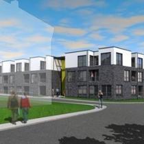 Neubau Apartmenthauses Musikerviertel, Lemgo