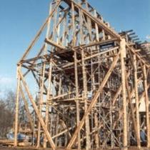 Rekonstruktion eines Gradierwerkes in Schönebeck/Salzelmen
