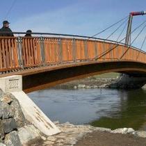 Brücke über den Main in Kulmbach