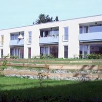Neubau von vier Mehrfamilienhäusern mit 45 Wohneinheiten